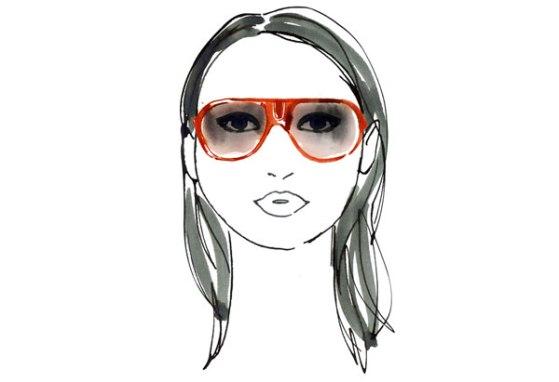 266 HAWA-Modis dengan Sunglasses Sesuai Bentuk Wajah-1