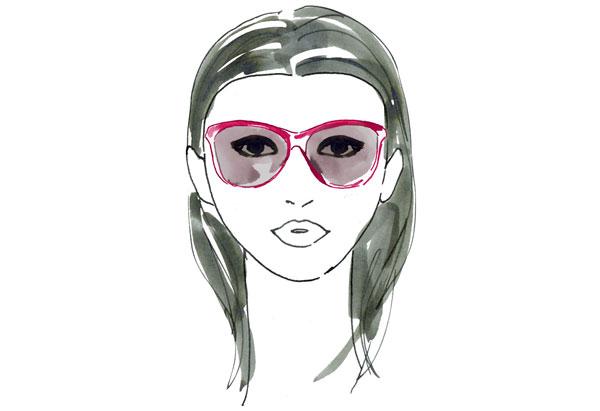266 HAWA-Modis dengan Sunglasses Sesuai Bentuk Wajah-7