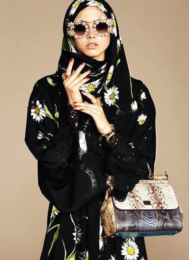286 HAWA-Dolce and Gabbana Meluncurkan Koleksi Hijab-1
