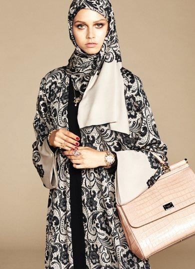 286 HAWA-Dolce and Gabbana Meluncurkan Koleksi Hijab-2