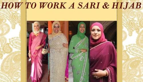 289 HAWA-Kombinasi Saree dan Hijab, Bisa Kok-4