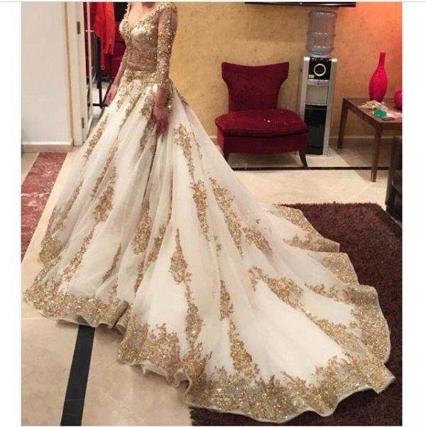 318 HAWA-Gaun Pernikahan India Mewah nan Glamour-1