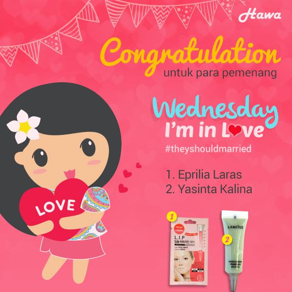 Wednesday-I'm-in-Love-Winner2