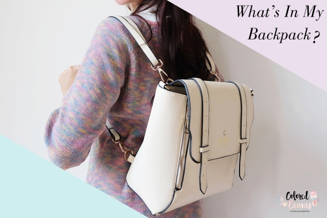 595 HAWA-Ghina Aulia, What's In My Backpack Bagian 1-4