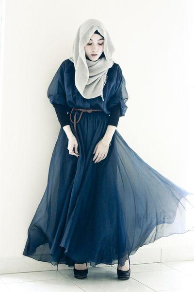 649 HAWA-Berhijab dan Tetap Cantik Dengan Tiru Gaya Hijab 5 Fashion Icons Ini-1