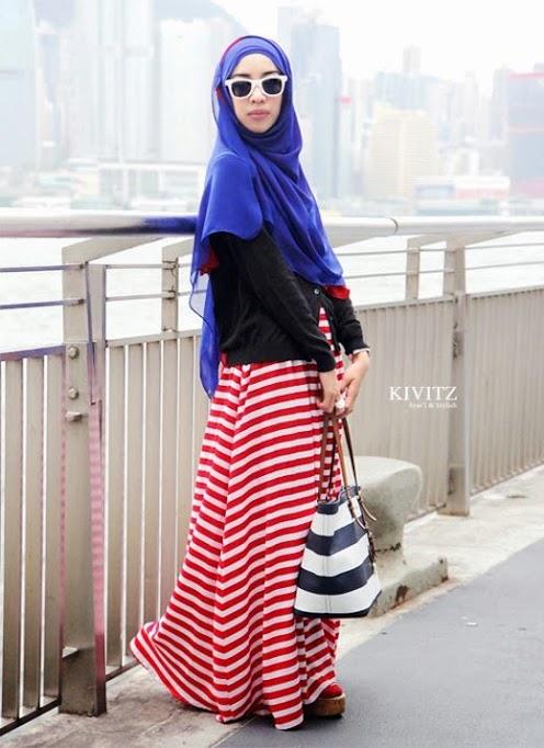 649 HAWA-Berhijab dan Tetap Cantik Dengan Tiru Gaya Hijab 5 Fashion Icons Ini-4