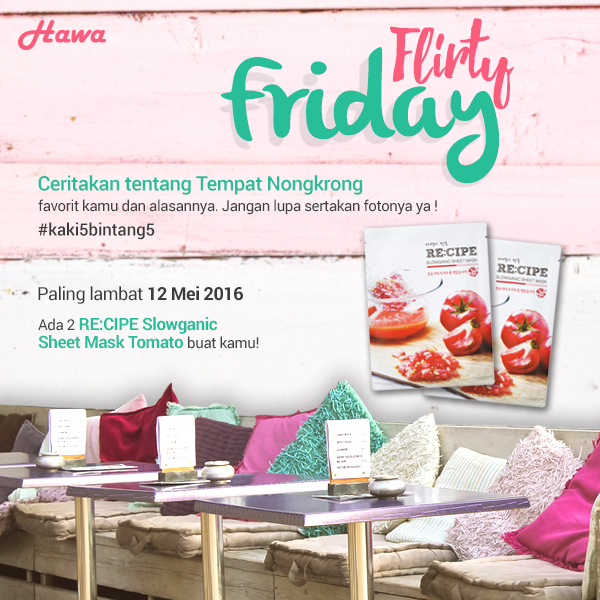 Flirty-Friday-kaki5bintang5)