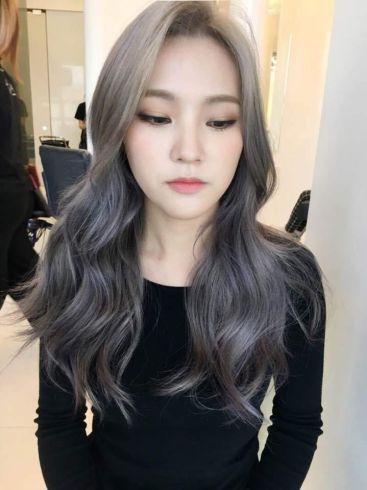 Lavender-Ash-Brown-hair-dye-color-2017-trending-popular-hair-color-dye-korea-korean-hairstyle-haircut